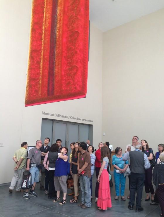 May 24th 2015 - Toronto's 16th Annual Doors Open. The Aga Khan Museum. Photo: Malik Merchant/Simerg. Copyright.