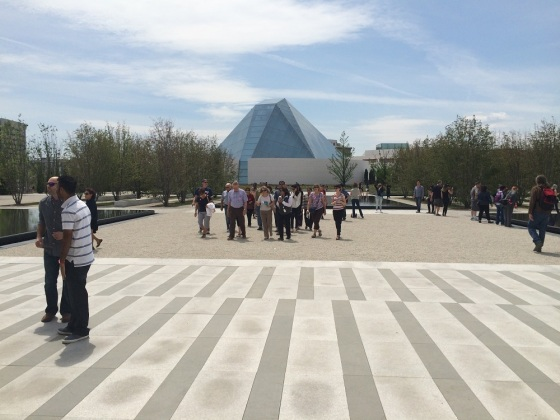 May 24th 2015 – Toronto's 16th Annual Doors Open. Visitors tour the Aga Khan Park. Photo: Malik Merchant / Simerg. Copyright