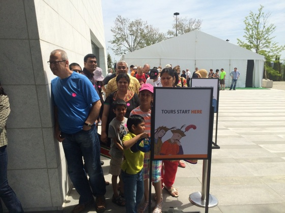 May 24th 2015 – Toronto's 16th Annual Doors Open. The Aga Khan Museum. Photo: Malik Merchant / Simerg. Copyright