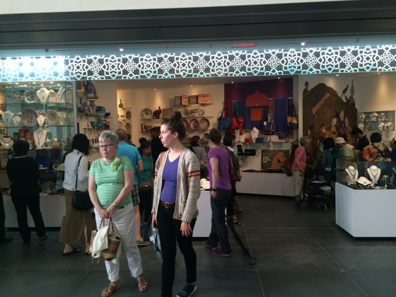 May 24th 2015 – Toronto's 16th Annual Doors Open. The Aga Khan Museum, gift shop. Photo: Malik Merchant / Simerg. Copyright