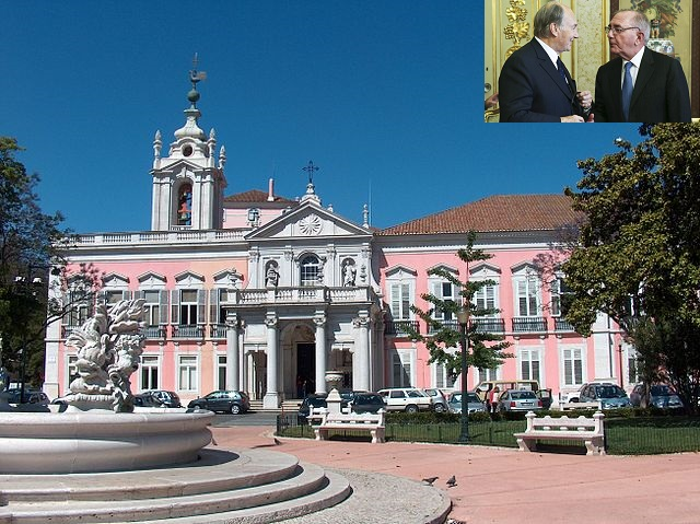 The agreement establishing Portugal as the seat of the Ismaili Imamat took place at the Palace of Necessidades. It  is a historical building in the Largo do Rilvas, a public square in Lisbon, Portugal. It serves as headquarters of the Portuguese Foreign Ministry. Palace Photo Photo: Wikipedia.