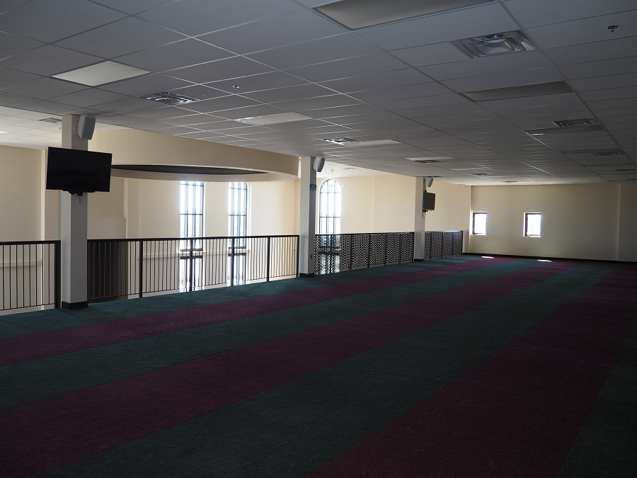 South Nepean Muslim Community Centre. The prayer space on the upper floor for Muslim women. Photo: Simerg/Malik Merchant.