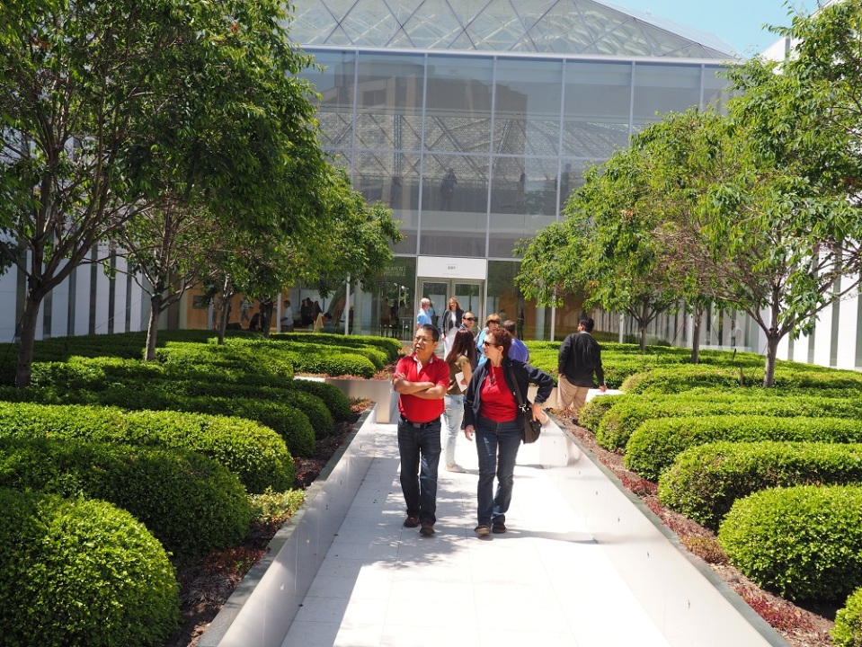 The Delegation of the Ismaili Imamat - garden. Photo: Simerg/Malik Merchant.
