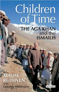Cover page, Children of Time - the Aga Khan and the Ismailis. originally scheduled for publication during the Golden Jubilee of His Highness the Aga Khan, is 8 years overdue.