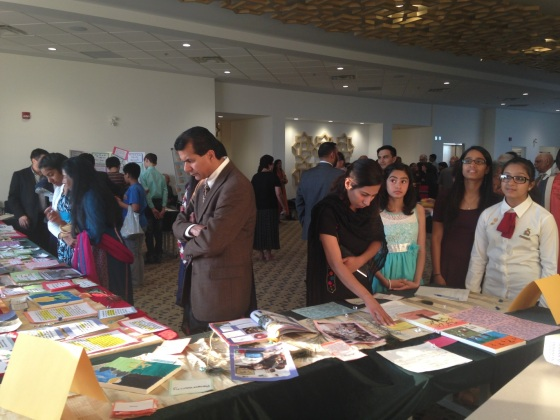 The Bait ul-Ilm Encounters Showcase, held at the Ottawa Jamatkhana in June 2015. Photo: ITREB, Ottawa. Copyright.