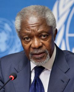 7th Secretary General of the United Nations, from January 1, 1997 – December 31, 2006