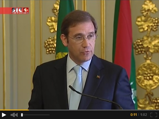 Portugal's Prime Minister speaking at the signing of the Agreement establishing the Seat of the Ismaili Imamat in Portugal. Please click on image to view a video clip of the remarks.