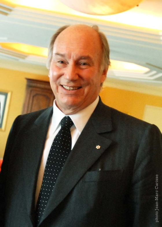 A portrait of His Highness the Aga Khan taken by Jean-Marc Carisse a few years ago. Copyright: Jean-Marc Carisse.