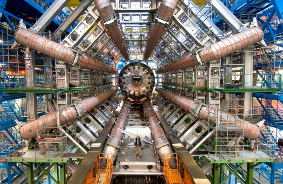 The Large Hadron Collider (LHC) is the world's largest and most powerful particle collider, the largest, most complex experimental facility ever built, and the largest single machine in the world. Published on the NASA website on February 25, 2008 as its image of the day. Image Credit & Copyright: Maximilien Brice, CERN