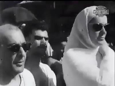 Mata Salamat Begum Aga Khan at the Hajj
