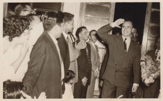 Prince Aly Khan, Lourenco Marques, 1957