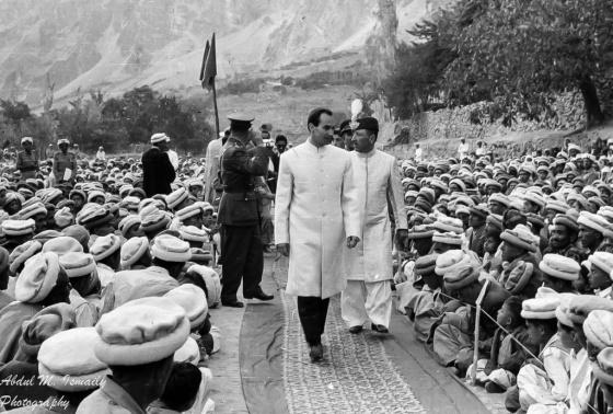 Papa Jan Photo: His Highness the Aga Khan Hunza Visit