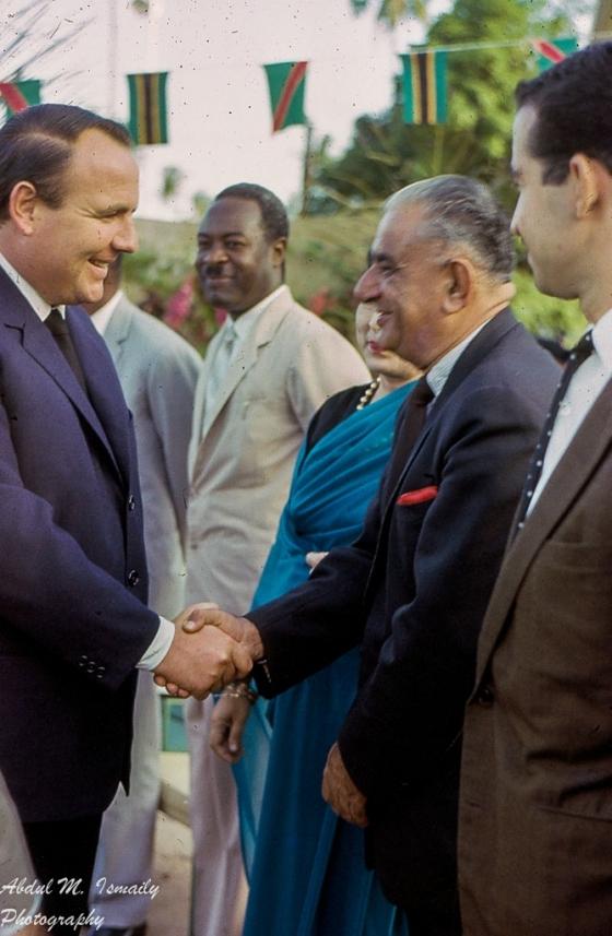 Prince Sadruddin Aga Khan, UNHCR, visit to Tanzania