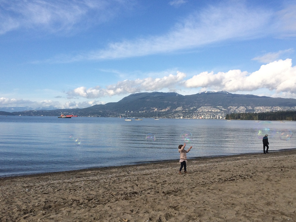 Kitsilano Beach Vancouver 2016