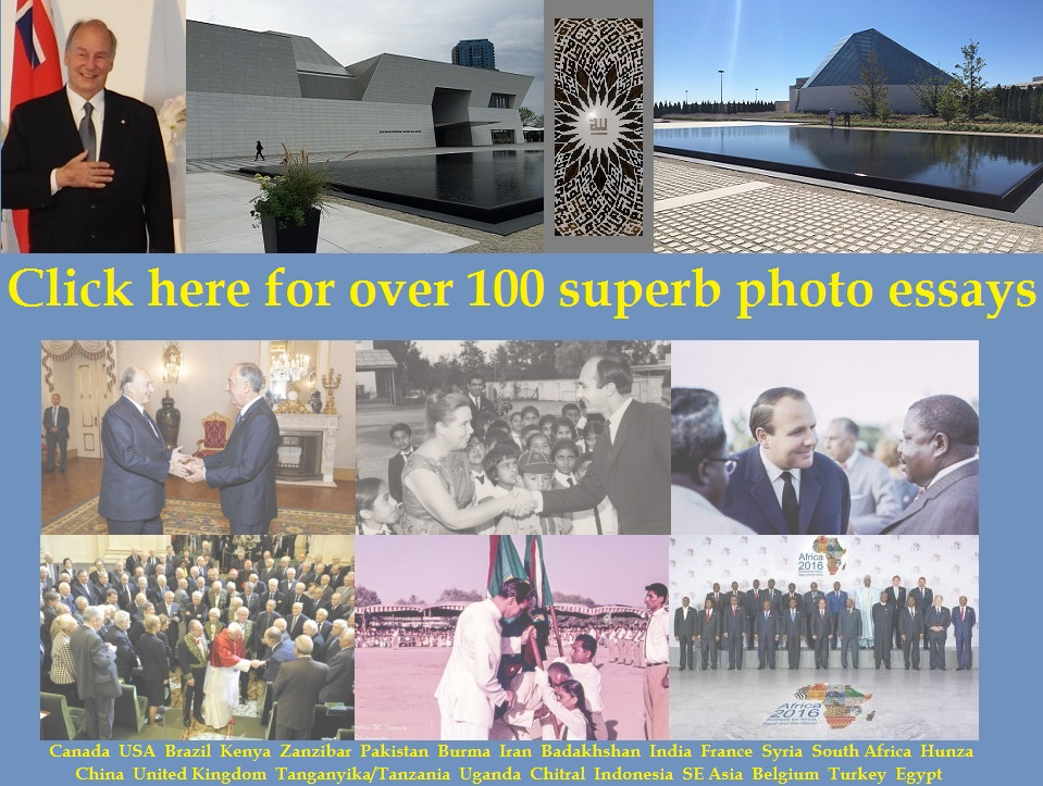 Please click on image for links to more than 100 photo essays and hundreds of rare photos.