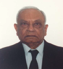Mr. Premji Vaghela is now a hundred years old and lives in Toronto, Canada: Photo: Premji Vaghela Collection. Copyright.