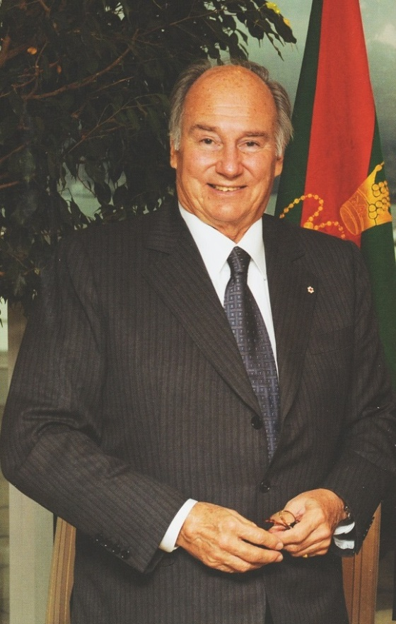 His Highness the Aga Khan pictured during His Golden Jubilee visit to Vancouver, Canada, on November 25, 2008. Photo: The Ismaili Canada, Golden Jubilee 1957 - 2007, Canada Visit.