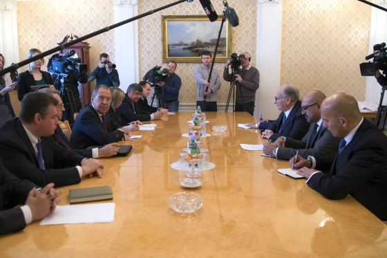 Aga Khan in Moscow April 20 2017