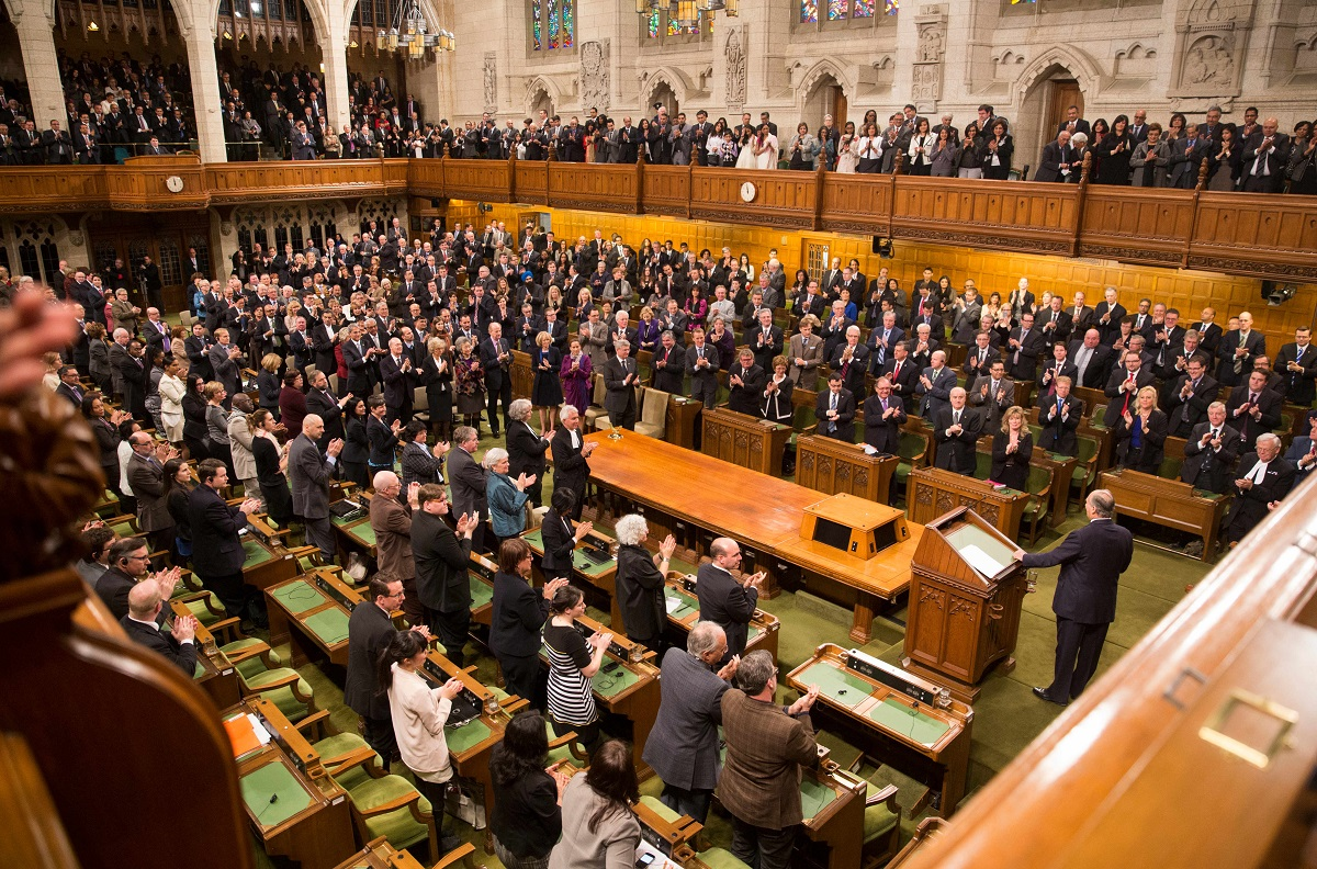 20140227_Aga Khan addressing the Canadian Parliament