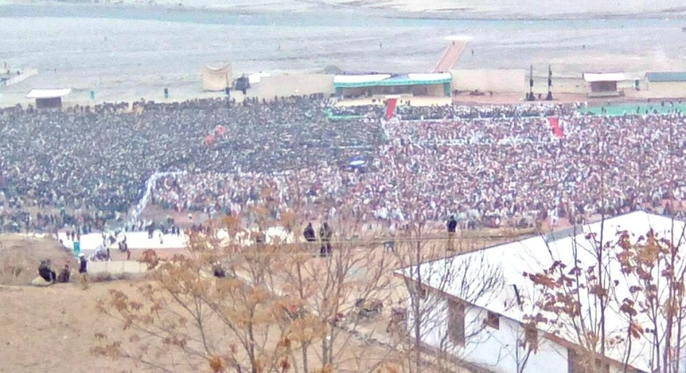 booni didargah before Darbar on December 9