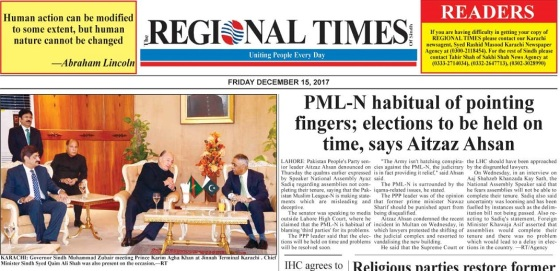 Regional Times Photo