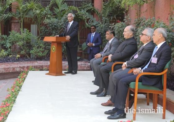 Firoz Rasul Aga Khan Visit CIME EVENT AKU Karachi