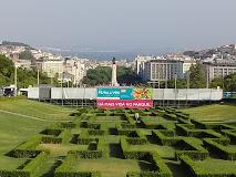 Aga Khan arrival Parque Eduardo VII