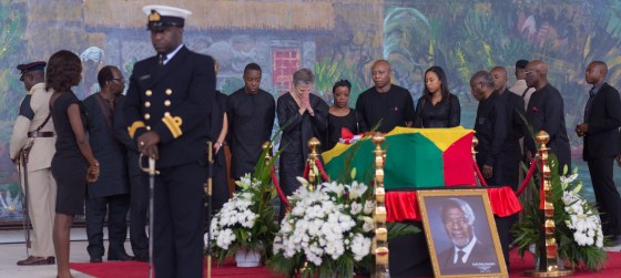 Kofi Annan Funeral