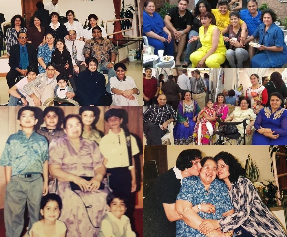 Family Collage 2 Shirin Khimji