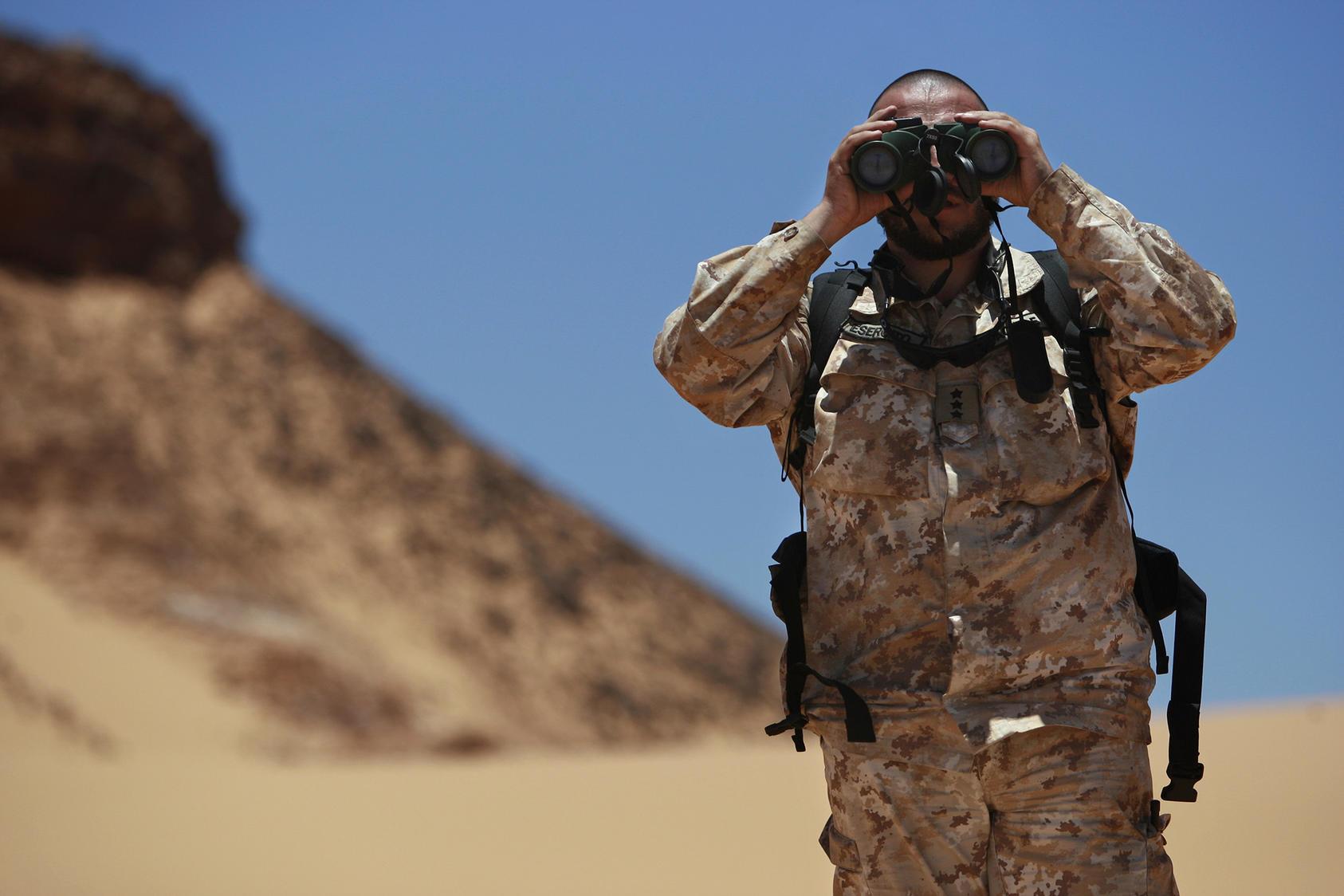 Ceasefie monitoring in Western Sahara