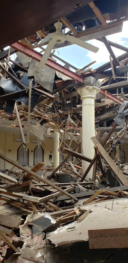 Dar es Salaam Ismaili Darkhana Jamatkhana rooftop collapse