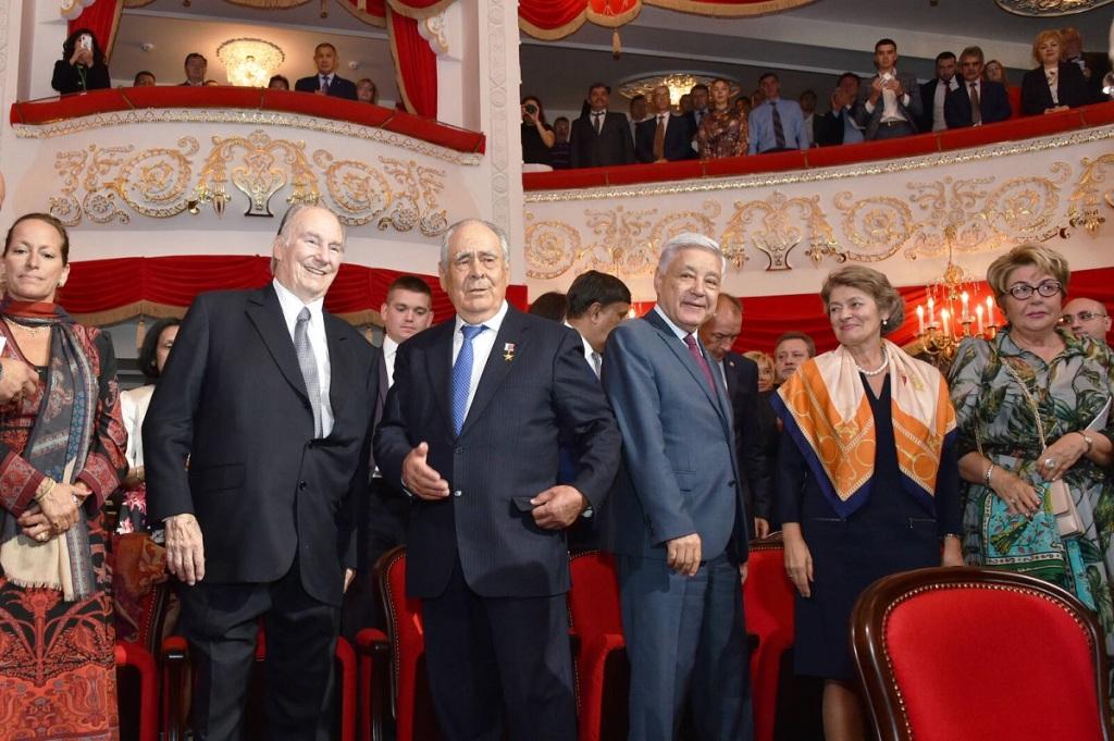 Aga Khan at Award Ceremony Kazan, Tatarstan