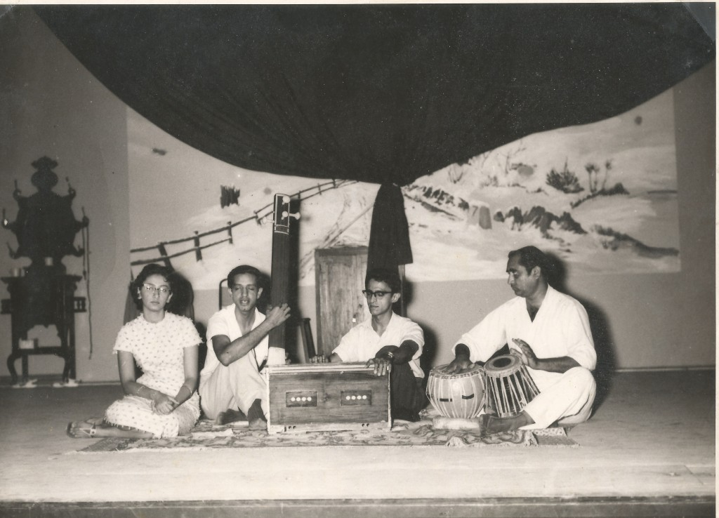 Shamshu Jamal performing in the 1960's. Photo for Simerg
