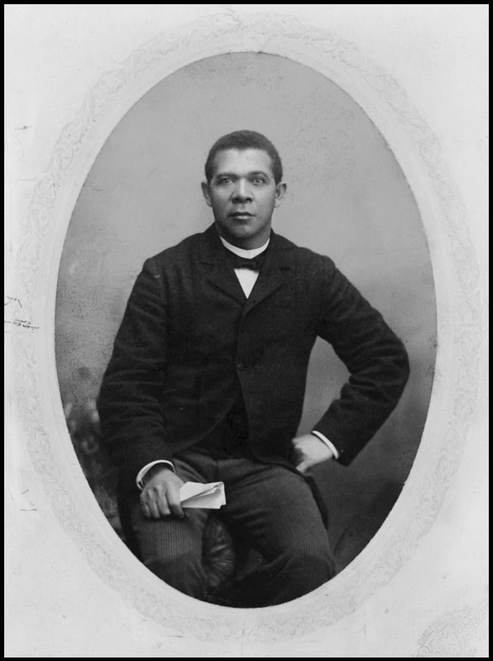 Booker T Washington, Library of Congress Photo, reproduced in Simerg