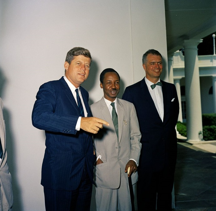 President Kennedy and Julius Nyerere