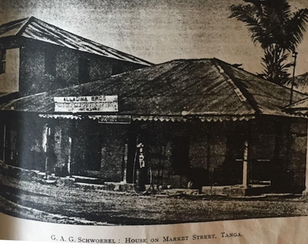 Alladina Bros & Shariff Service Station, Tanga Tanganyika, Simerg Ismaili