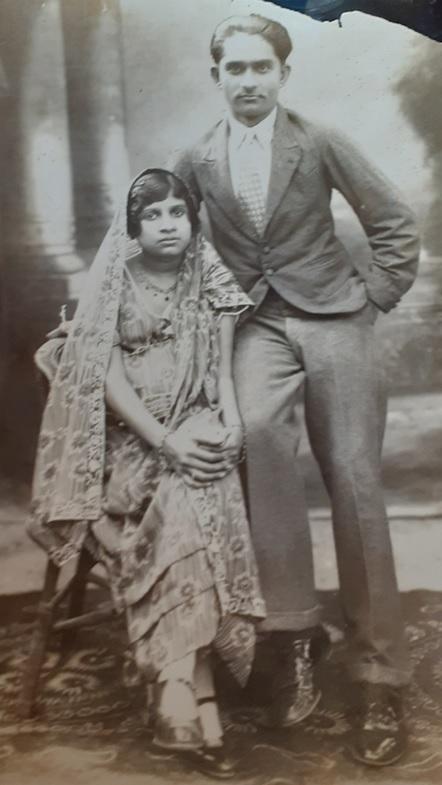 Shariff and Zera Alladina Patney, Tanga Ginan Reciter Ismaili Simerg