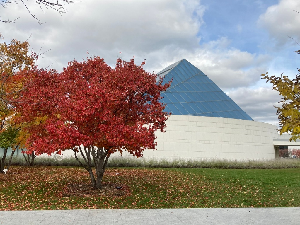Ismaili Jamatkhana Dome and Aga Khan Park