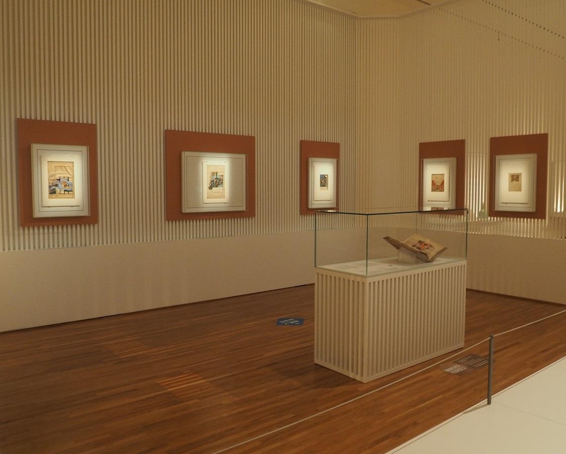 Shahnameh gallery Aga Khan Museum, Simerg