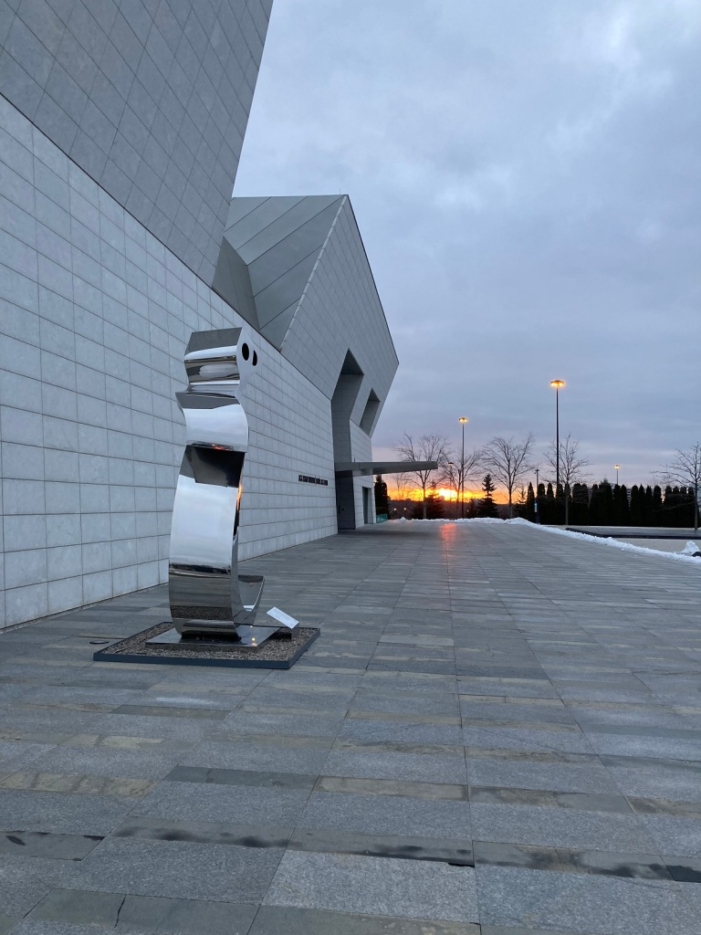 Aga Khan Museum Sunrise January 1 2021