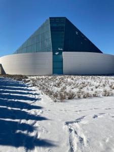 Ismaili Jamatkhana Dome.