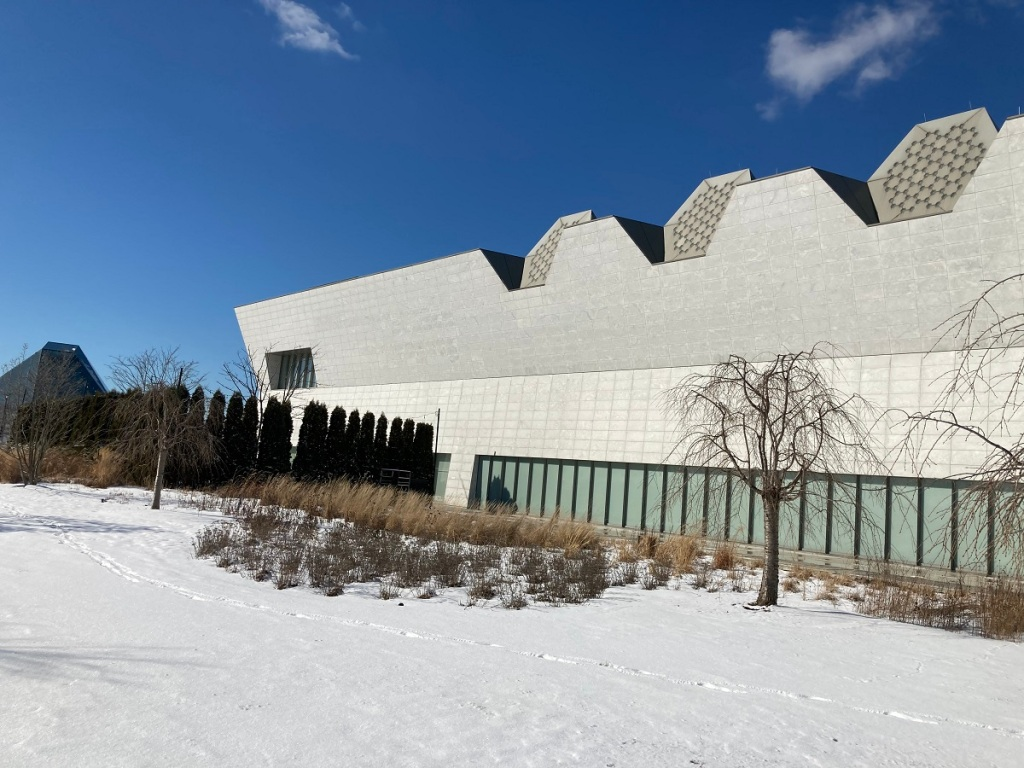 Aga Khan Museum and Ismaili Jamatkhana dome Simerg Valentine's Day Photo