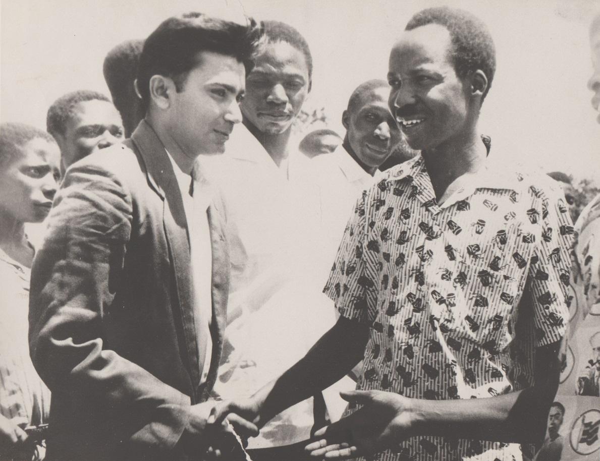 Sadrudin Velji and President Nyerere