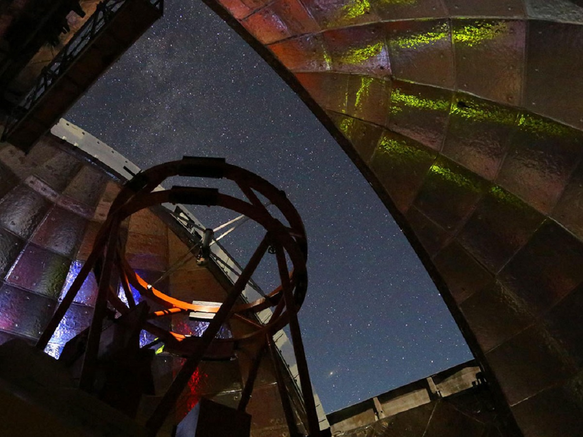 NASA's Infrared Telescope Facility atop Mauna Kea in Hawaii