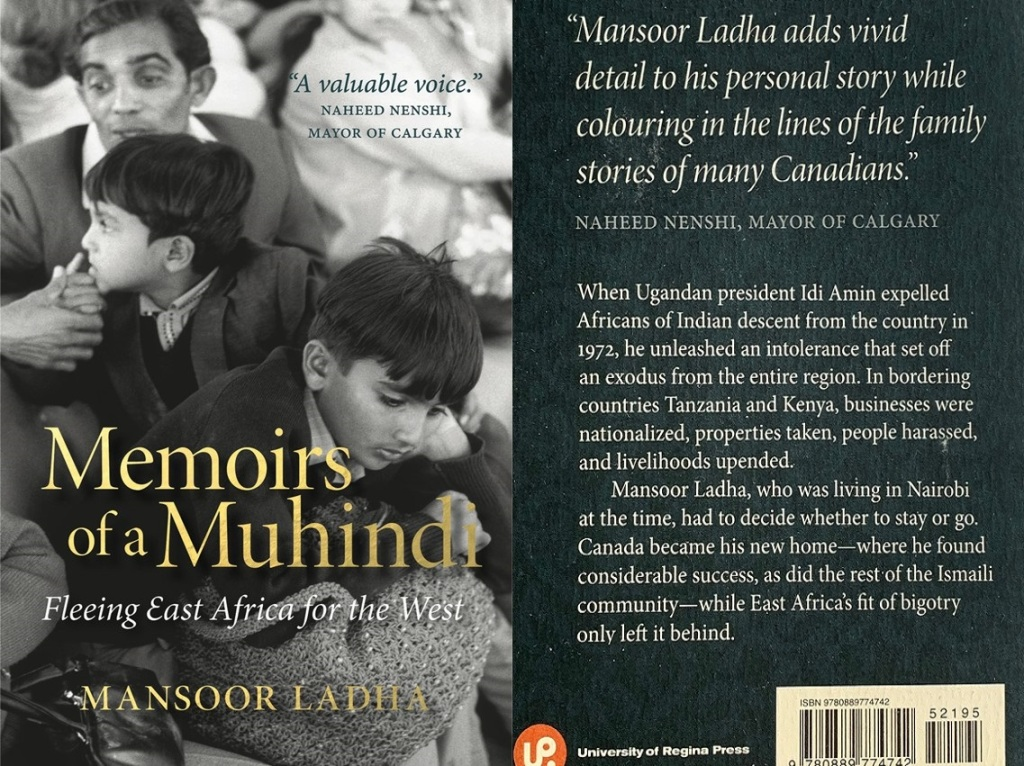 Memoirs of a Muhindi Fleeing East Africa for the West by Mansoor Ladha