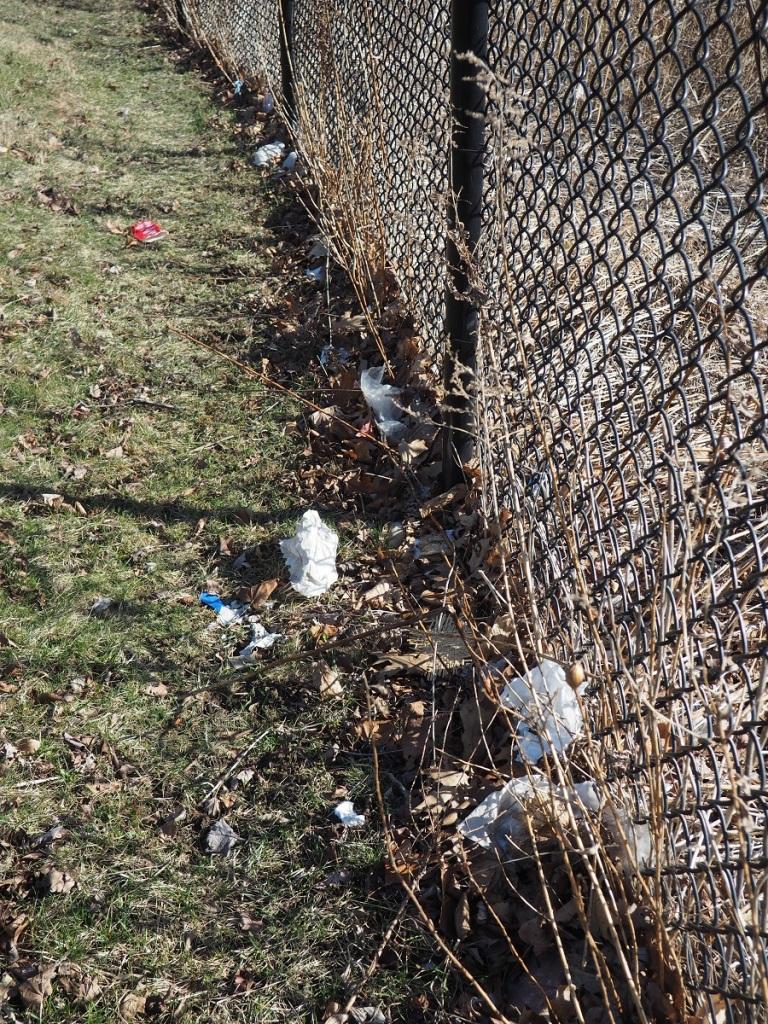 Aga Khan Park plastics