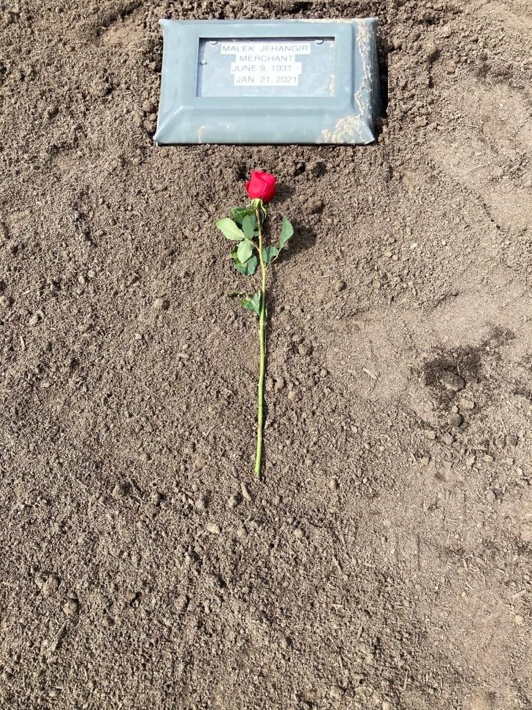 Mrs. Merchant grave Victory Memorial Park