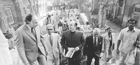 Aga Khan arrives for award ceremony in Lahore Pakistan