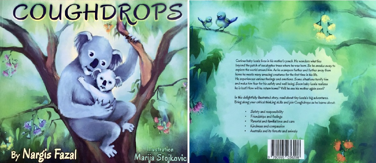 Coughdrops Ismaili Authors Nargis Fazal Simerg