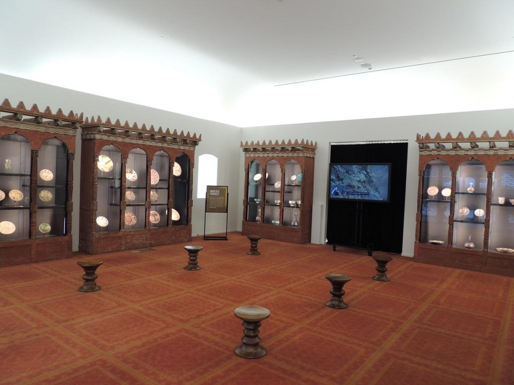 Bellerive Room, Aga Khan Museum, Toronto. Photo: Malik Merchant Simerg Princess Sadruddin and Princess Catherine
